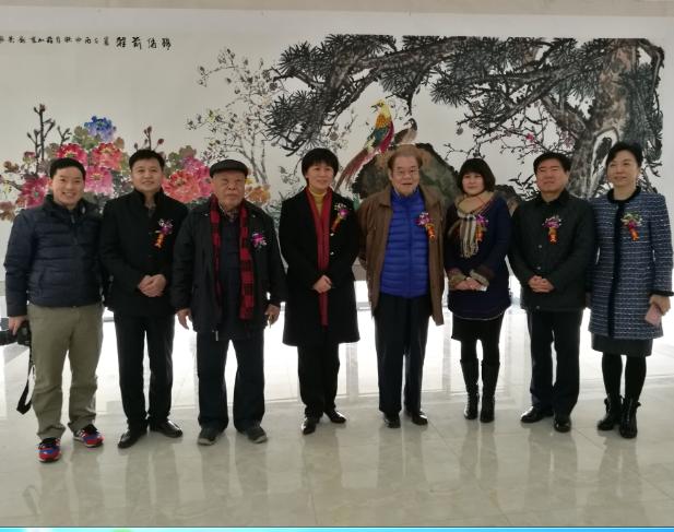 苏振亚刘剑影伉俪书画展在安徽淮北隆重开幕